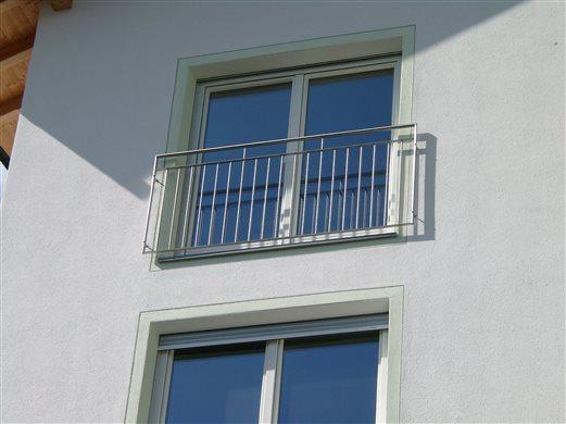 Franz. Balkon-Geländer Mat.Inox