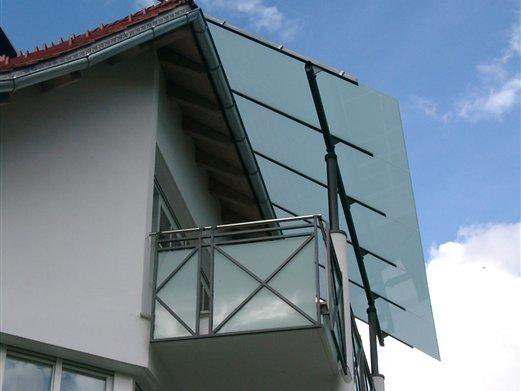 Struktur beschichtet Füllung Glas