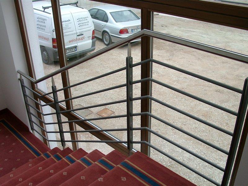 Geländer für ein Hotelstiegenhaus in Burgstall