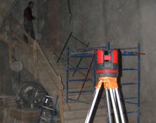 3d Aufmaß einer Treppe mit dem 3d Disto von Leica